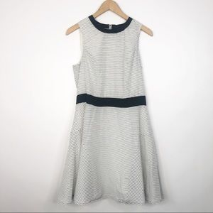 Target Mossimo Black and White Striped Dress